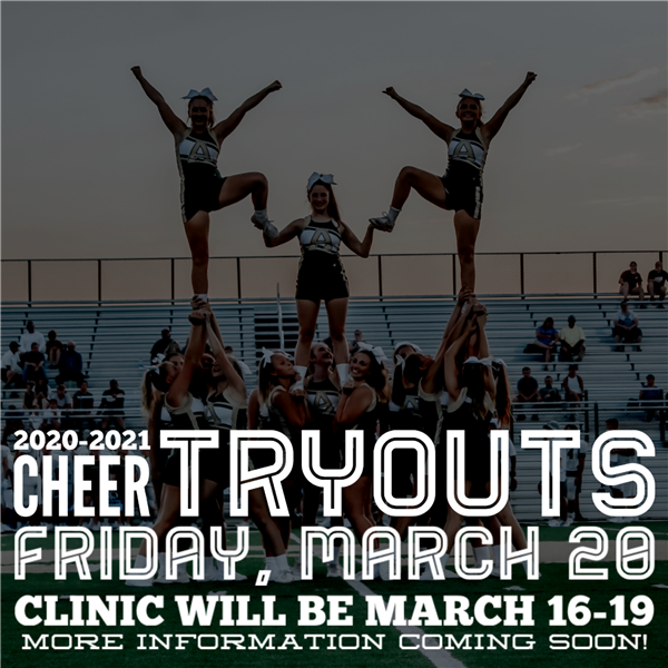 2020-2021 Cheer Tryouts