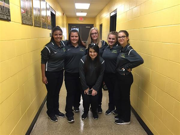 Football Student Athletic Training Students
